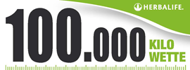 Die 100.000 Kilo Wette von Bild.de und Herbalife